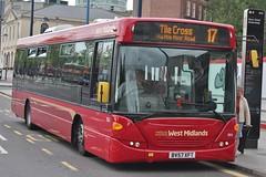 National Express West Midlands Scania OmniLink 1804 (BV57 XFT) (Bordesley) 'Rosie' (john-s-91) Tags: nationalexpresswestmidlands scaniaomnilink 1804 bv57xft birmingham route17