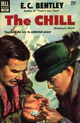 Dell Books 704 - E.C. Bentley - The Chill (swallace99) Tags: dell vintage 50s thriller paperback carlbobertz