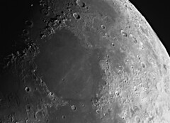 2019-07-09 Moon with ZWO224 MC#1 (Johan B.) Tags: lune moon zwo asi 224mc celestron c90 mak 90 astrophoto astrophotography photo au foyer prime focus