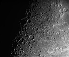 2019-07-09 Moon with ZWO224 MC#2 (Johan B.) Tags: lune moon zwo asi 224mc celestron c90 mak 90 astrophoto astrophotography photo au foyer prime focus