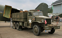 CCKW (Schwanzus_Longus) Tags: fassberg fasberg german germany us usa america american old classic vintage vehicle truck lorry military army flatbed platform gmc cckw
