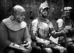 A lot of metal - knights (Ramireziblog) Tags: armour harnas ridder knight doornenburg battle