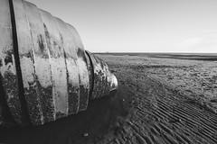 Sluggish (subterraneancarsickblues) Tags: lancashire cleveleys coast beach seaside marysshell sculpture wide wideangle bw blackandwhite canon 6d eos6d 1635mm f4l lseries fylde