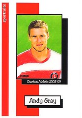Sportraits Charlton Athletic 2008-09 Andy Gray (Charlton Athletic Programmes) Tags: charltonathletic charlton andrewgray andygray gray sportraits charltonathletic200809 0809 postcard