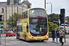 Go Ahead East Yorkshire 893, BX55XMU. (EYBusman) Tags: go ahead north east yorkshire motor services eyms hull bus coach scarborough town centre westborough locals wright eclipse gemini volvo b7tl beachcomber national express london travel abellio regional transport buses bx55xmu eybusman