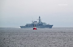 HMS Sutherland (Zak355) Tags: rothesay isleofbute bute scotland scottish frigate royalnavy naval navy hmssutherland f81 riverclyde ship shipping boat vessel