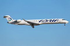 Adria Airways CRJ-900LR S5-AFC (wapo84) Tags: bru ebbr crj s5afc adria canadair bombardier