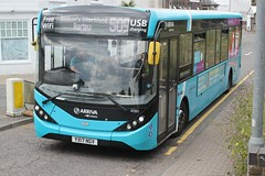 Arriva Kent Thameside / Arriva Southern Counties . 4080 YX17NGV . Dane Street , Bishop's Stortford , Hertfordshire . Wednesday 10th-July-2019 . (AndrewHA's) Tags: hertfordshire bishopsstortford arriva kent thameside southern counties alexander dennis e20d adl enviro 200 mmc 4080 yx17ngv route 509 stansted airport harlow passenger service transport