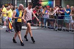 Pride London 2019 - DSCF2375a (normko) Tags: london pride parade 2019 regent street gay lesbian bi trans celebration protest rainbow high heels