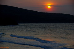 3KB14187a_C (Kernowfile) Tags: smcpentaxda18135mmf3556edalifdcwr cornwall cornish pentax stives porthmeorbeach sunset sunsetmoment water reflections rocks hills slope sky sunsetsky cliffs horizon sunlight waves clouds cloud cloudscape