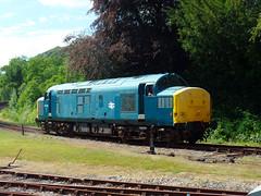 37142 Bodmin Parkway (5) (Marky7890) Tags: 37142 class37 bodminparkway bodminwenfordrailway cornwall heritage diesellocomotive