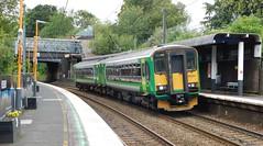 153364 & 153365 - University, Birmingham (The Walsall Spotter) Tags: university railway station westmidlands birmingham westmidlandsrailway class153 sprinter dmu multipleunit 153364 153365 networkrail britishrailways