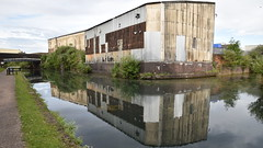 Industrial Reflections - 3, Wolverhampton Canal (rq uk) Tags: rquk nikon d750 wolverhampton canal reflections clouds nikond750 afsnikkor1835mmf3545ged