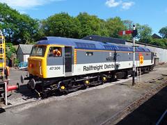 47306 Bodmin General (7) (Marky7890) Tags: 47306 class47 bodmingeneral bodminwenfordrailway cornwall heritage diesellocomotive