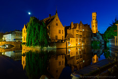 Rozenhodkaii, Bruges, Belgium (iesphotography) Tags: 2019 5d3 belgium bruges brussels canon citybreak eu europe european eurostardestination flanders holiday photography travel vacation rozenhodkaii night ninghtphotography