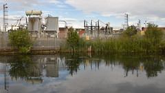 Industrial Reflections - 4, Wolverhampton Canal (rq uk) Tags: rquk nikon d750 wolverhampton canal reflections clouds nikond750 afsnikkor1835mmf3545ged