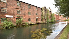 Derelict Building, Wolverhampton Canal (rq uk) Tags: rquk nikon d750 wolverhampton canal industrial reflections nikond750 afsnikkor1835mmf3545ged