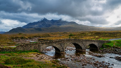 Sligachan Bridge (dkphotographs) Tags: isleofskye skye scotland sligachan bridge sligachanbridge mountains cuillin landscape historic sky dramatic clouds storm sonyalpha7 nature travel