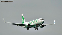 Transavia Flight (bluetoonloon) Tags: bluetoonloon aircraft transavia kalamaki zakynthos zante greece boeing