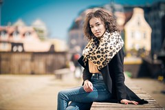 Natalia (Vagelis Pikoulas) Tags: girl portrait woman gdansk beautiful beauty bokeh photoshoot photography poland europe street april day light natural spring 2019 sigma art 85mm f14 canon 6d