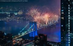 Brooklyn Bridge Fireworks (20190704-DSC09583) (Michael.Lee.Pics.NYC) Tags: newyork fireworks july4 independenceday macys night longexposure brooklynbridge eastriver manhattanbridge lowermanhattan aerial hotelview millenniumhilton architecture cityscape sony a7rm2 fe24105mmf4g