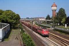 Lingen (Nils Wieske) Tags: niedersachsen emsland lingen baureihe 139 140 e40 güterzug db cargo bahn eisenbahn wasserturm turm railway railroad train