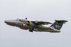 Saab 105OE - 03 (NickJ 1972) Tags: montdemarsan ba118 nato tiger meet spotters day ntm 2019 aviation saab 105 sk60 1125 re25
