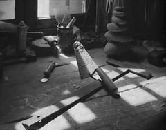 L'atelier (LaurentPierreGauthier) Tags: 4x5 tachihara fomapan100 xtol
