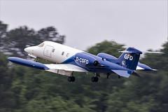 Gates Learjet 35A - 06 (NickJ 1972) Tags: montdemarsan ba118 nato tiger meet spotters day ntm 2019 aviation gates learjet 35 dcgfd