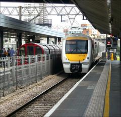 c2c Train No. 357008 approaches Stratford en-route to (London) Liverpool Street (Didimendum) Tags: c2c 357008 stratford class357 emu railway railwaytrain londonliverpoolstreet