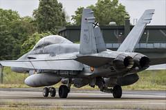 McDonnell Douglas EF-18BM Hornet - 10 (NickJ 1972) Tags: montdemarsan ba118 nato tiger meet spotters day ntm 2019 aviation mcdonnelldouglas fa18 ef18 hornet ce1507 1576