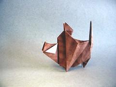 Boar - Paul Frasco (Rui.Roda) Tags: origami papiroflexia papierfalten javali jabali sanglier boar paul frasco