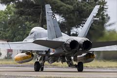 McDonnell Douglas EF-18M Hornet - 47 (NickJ 1972) Tags: montdemarsan ba118 nato tiger meet spotters day ntm 2019 aviation mcdonnelldouglas fa18 ef18 hornet c1537 1524