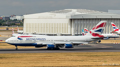 BA B747 (Ramon Kok) Tags: 744 747 747400 avgeek avporn aircraft airline airlines airplane airport airways aviation ba baw boeing boeing747 boeing747400 britishairways egll england gciva gb greatbritain heathrow heathrowairport london londonheathrow londonheathrowairport premierinnlondonheathrowairportterminal4hotel premierinnt4 uk