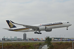 Singapore Airlines A350-941(9V-SGG) LAX Approach 2 (hsckcwong) Tags: singaporeairlines a350941 a350900 a350 9vsgg lax klax