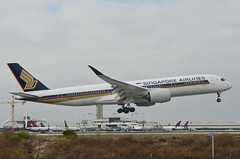 Singapore Airlines A350-941(9V-SGG) LAX Approach 3 (hsckcwong) Tags: singaporeairlines a350941 a350900 a350 9vsgg lax klax