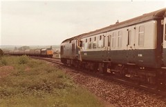 Partial Eclipse Exeter June 1983 (clivepsmithmarch1960) Tags: exeter 45070 50019