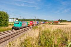 Einer von vielen (Korbinian Eckert) Tags: bombardier br 185 baureihe lte batzhausen klv kombinierter ladungsverkehr kbs 880 nürnberg regensburg eisenbahn railway schiene 608