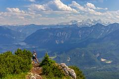 Hike with a view (herbraab) Tags: outdoor mountain mountainside katrin dachstein badischl upper austria hiking trekking landscape alps hallstatt lake canoneos550d tamronspaf1750mmf28 salzkammergut