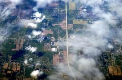Over US territory (oobwoodman) Tags: aerial aerien luftaufnahme luftphoto luftbild zrhord usa america michigan clio