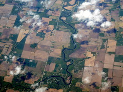The mighty Shiawassee (oobwoodman) Tags: aerial aerien luftaufnahme luftphoto luftbild zrhord usa america michigan shiawassee river creek stream fluss rivière ruisseau