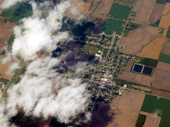The metropolis of Fowler (oobwoodman) Tags: aerial aerien luftaufnahme luftphoto luftbild zrhord usa america michigan fowler