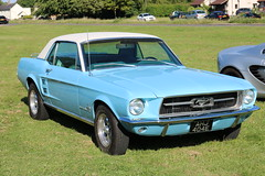 Ford Mustang (R.K.C. Photography) Tags: fordmustang ford classic american musclecar blue ahj404e 1967 barrington england unitedkingdom uk cambridgeshire canoneos750d