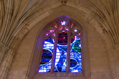 Apollo 11 - the Space Window at the National Cathedral (US Department of State) Tags: apollo11 spacewindow nationalcathedral washingtondc lunarfragment moonrock nasa neilarmstrong buzzaldrin michaelcollins