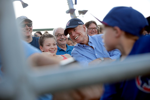 Joe Biden with attendees by Gage Skidmore, on Flickr
