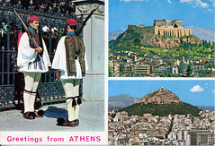IMG_0006 Athens Greece Postcards from MGS Worldwide travels to Geoff and Jean Spafford RIP 1978 (photographer695) Tags: postcards from mgs worldwide travels geoff jean spafford rip athens greece 1978