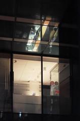 DSCF4821 (Mike Pechyonkin) Tags: 2019 moscow москва night ночь window окно reflection отражение lamp лампа