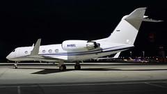 N416EL (RJE Aviation Images) Tags: n416el gulfstream giv london southend airport egmc sen pegasus elite aviation