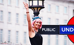 Pink Celebration (Jonny Goodboy) Tags: london londonpride pride2019 piccadillycircus parade celebration lgbt canon70d jonnygoodboy pride