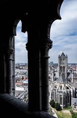 Through the Arches (MikeTheExplorer) Tags: ghent belgium europe travel traveling traveler wanderlust explore discover perspective composition city cityscape skyline architecture church fujifilm fujifilmxt100